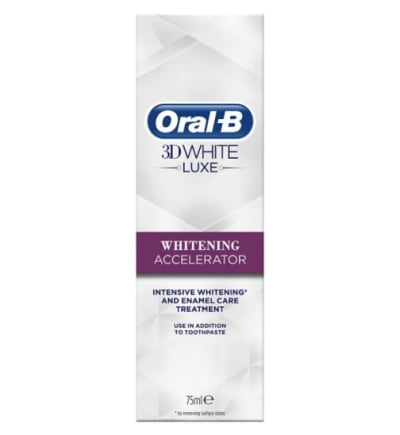 Oral-B 3D White Luxe Whitening Accelerator Treatment undefined