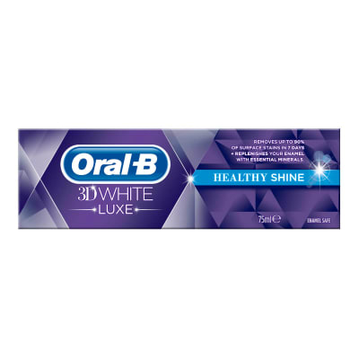 Oral-B 3D White Luxe Healthy Shine tandkräm undefined
