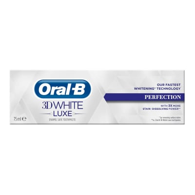 Oral-B 3D White Luxe Perfection tandkräm undefined