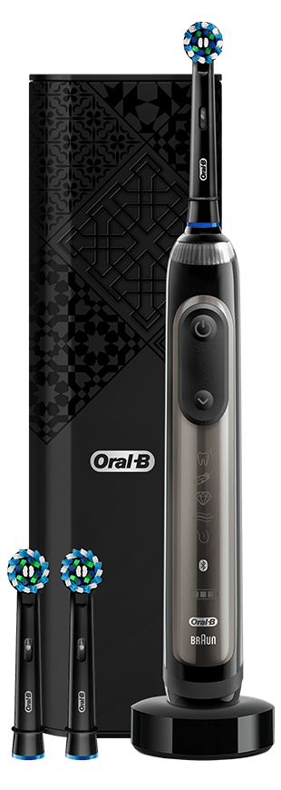 Genius X 20000 Luxe Edition Electric Toothbrushes Anthracite Gray | Oral-B