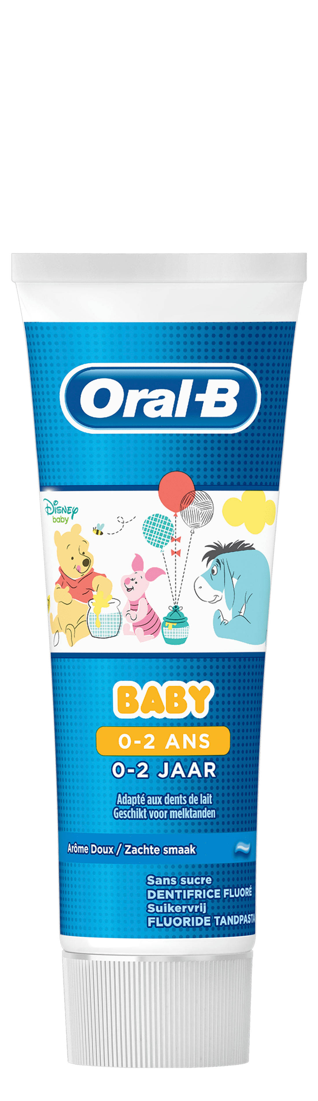 Oral-B Baby Winnie L'Ourson Dentifrice 75 ml, 0 à 2 Ans