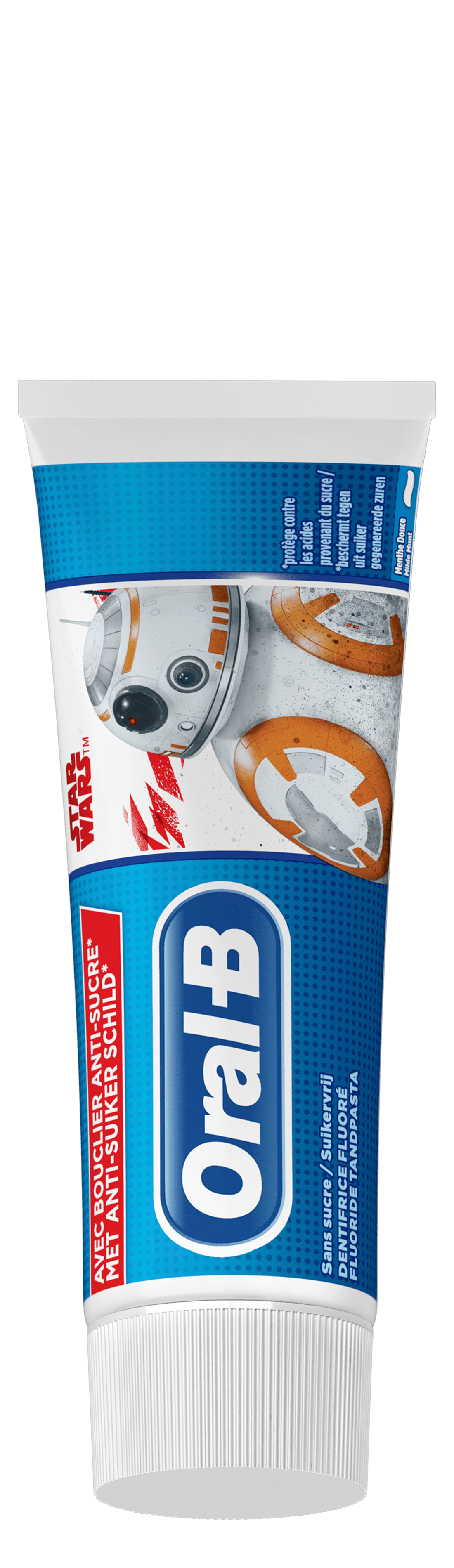 Oral-B Junior Star Wars Dentifrice 75 ml, 6 Ans Et Plus