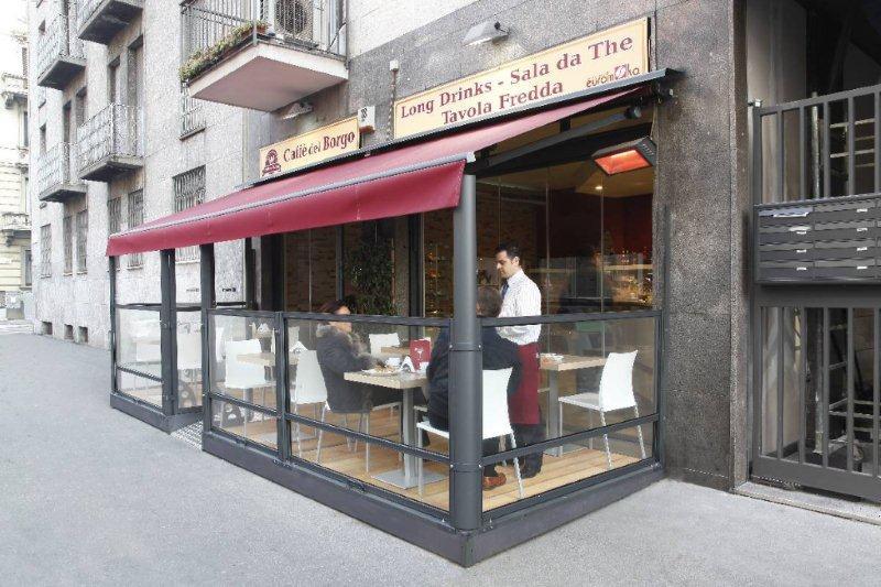 פרגודים מודולריים למסעדות