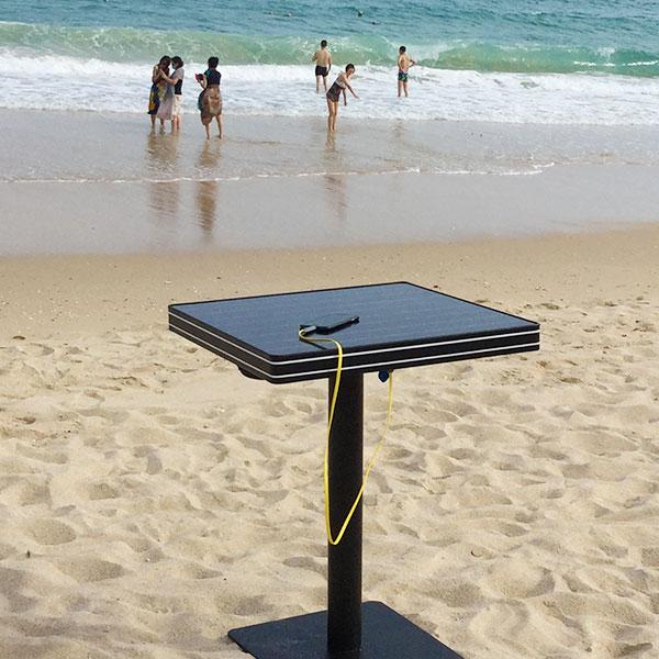 עמדת טעינה סולארית