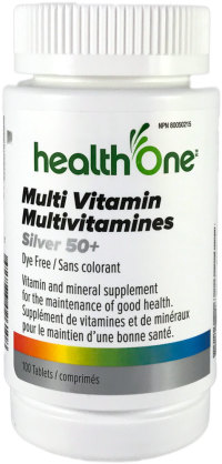Multi Vitamin Silver 50+