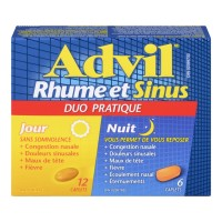 ADVIL COLD & SINUS DAY & NIGHT