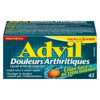 ADVIL ARTHRITIQUE DOULEUR CAPS 45
