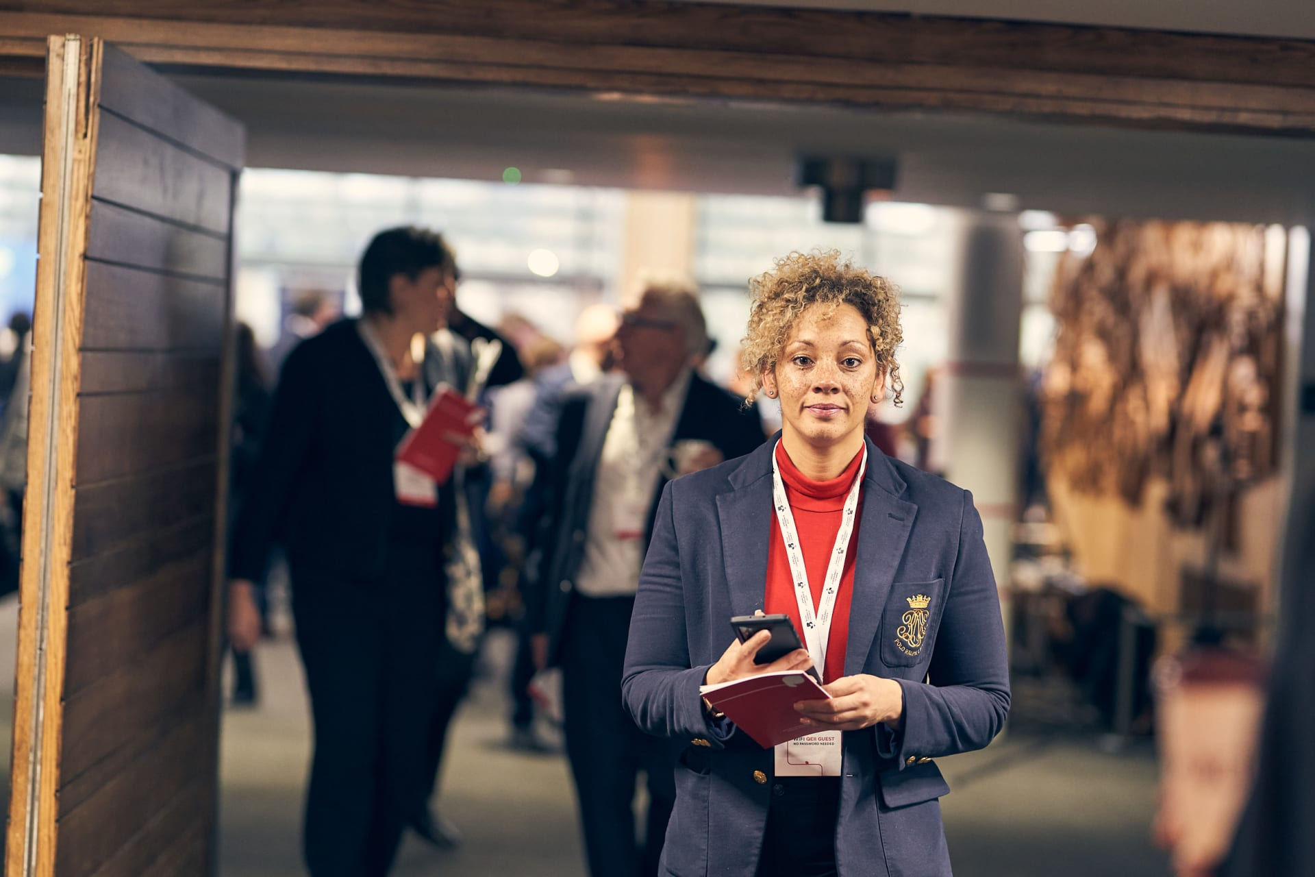 Photograph taken at the QEII Centre, London in March 2020 during the British Chambers of Commerce Annual Conference