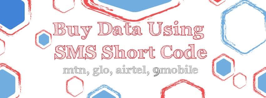 Buy Internet Data Using SMS Short Code