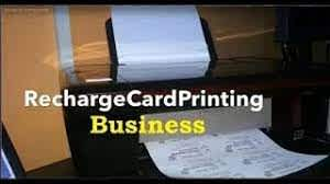 Recharge Card printing business for all networks in Nigeria