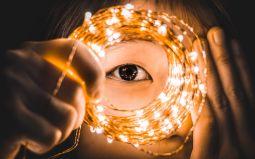 Eye correction figurative image.