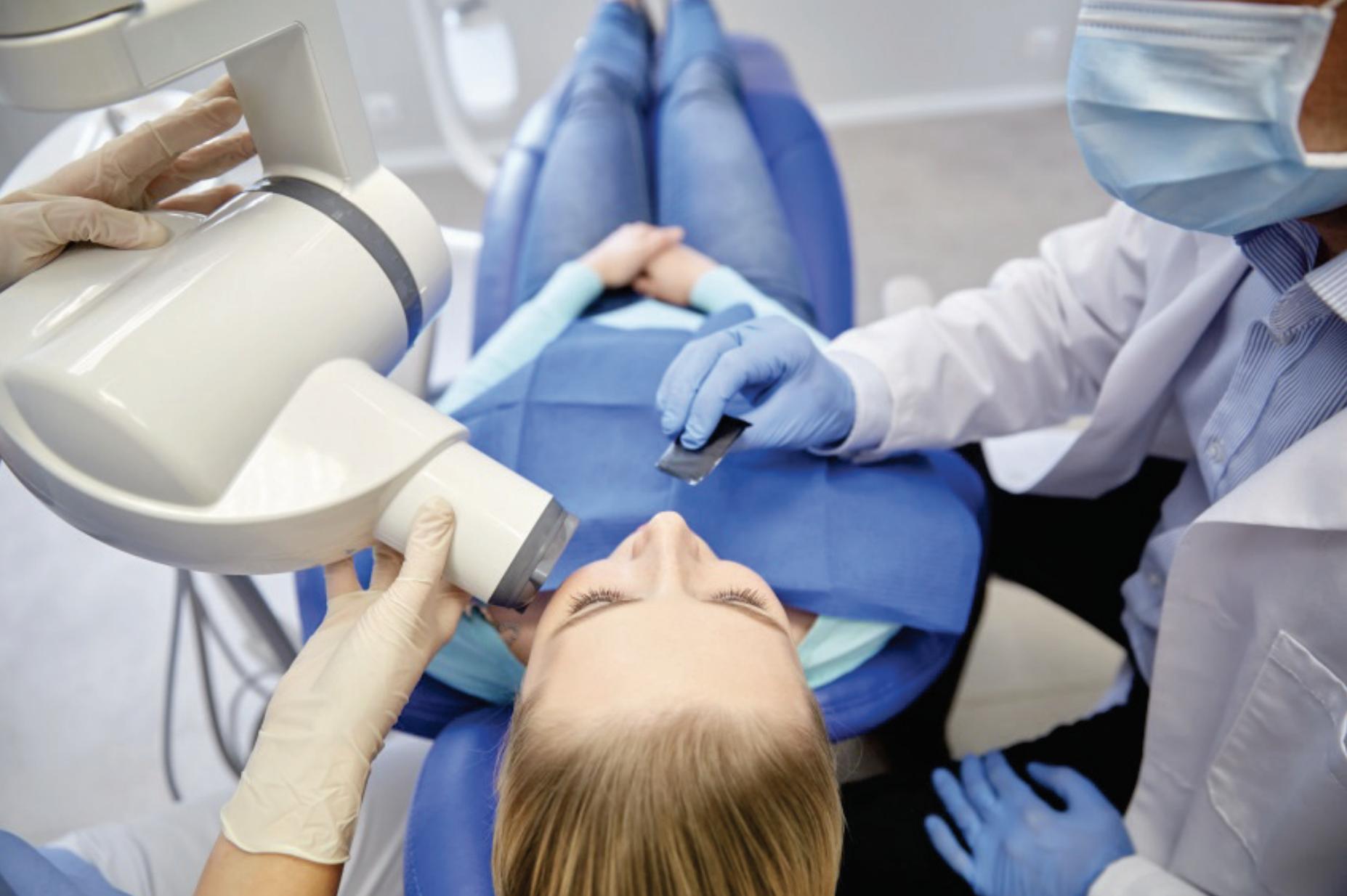 Dental X-Ray in progress