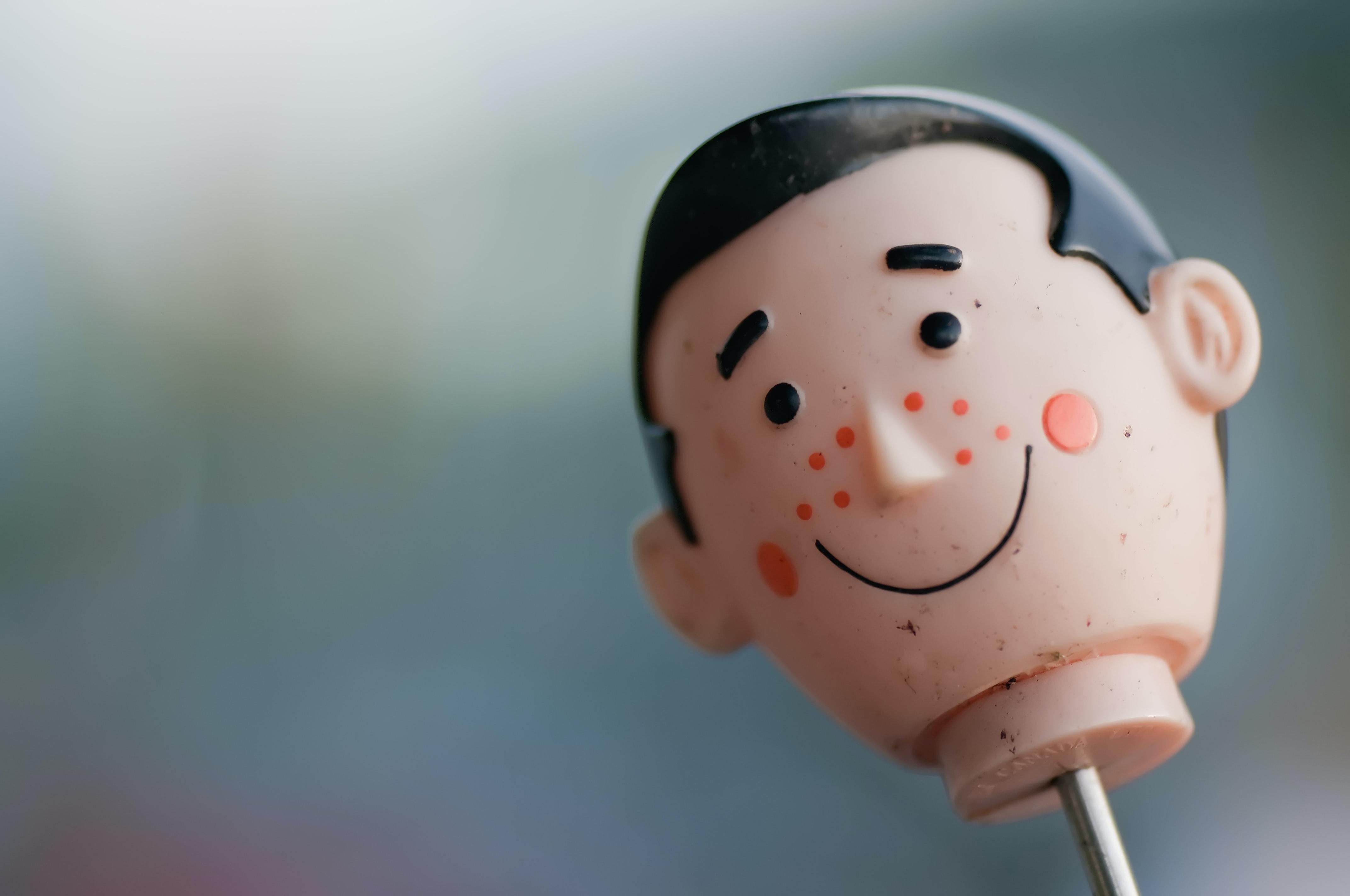 Acne puppet. Photo by Scott Webb on Unsplash.