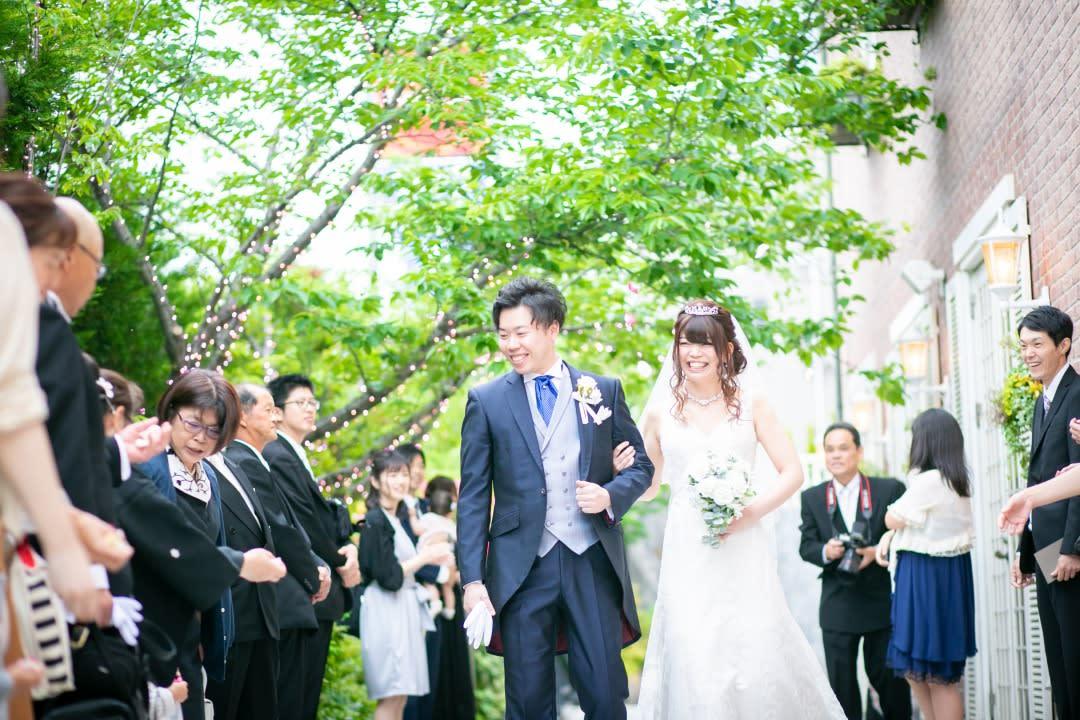 """結婚式の """"幸せの空間"""""""