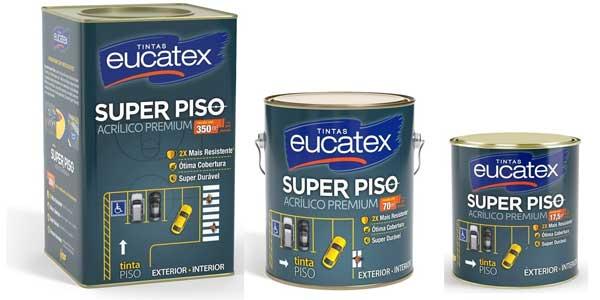 Tinta Acrílica Super Piso é novidade da Eucatex