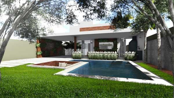 Casa sustentável pelo Domingos de Arquitetura
