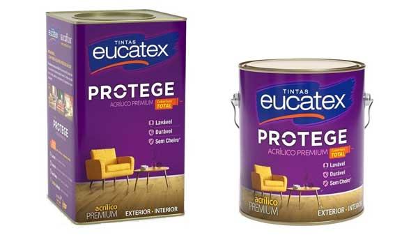 Eucatex Acrílico Protege é novidade das Tintas Eucatex