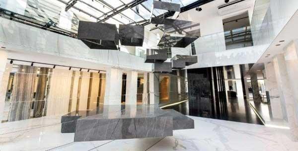 Novo showroom Galleria della Pietra