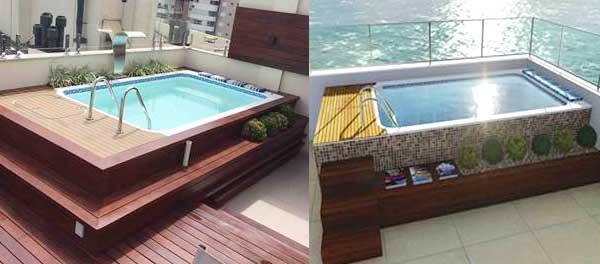 Pipeline piscinas para apartamentos