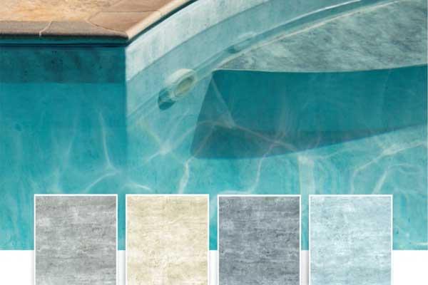 Nova Coleção Mármore para piscina