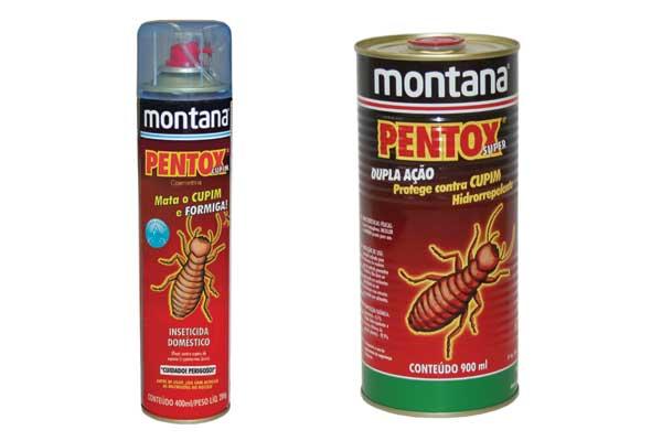 Pentox proteje madeiras contra cupins