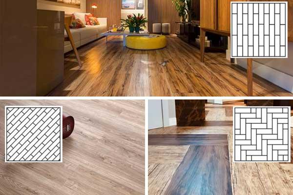 Paginações criativas com piso vinílico