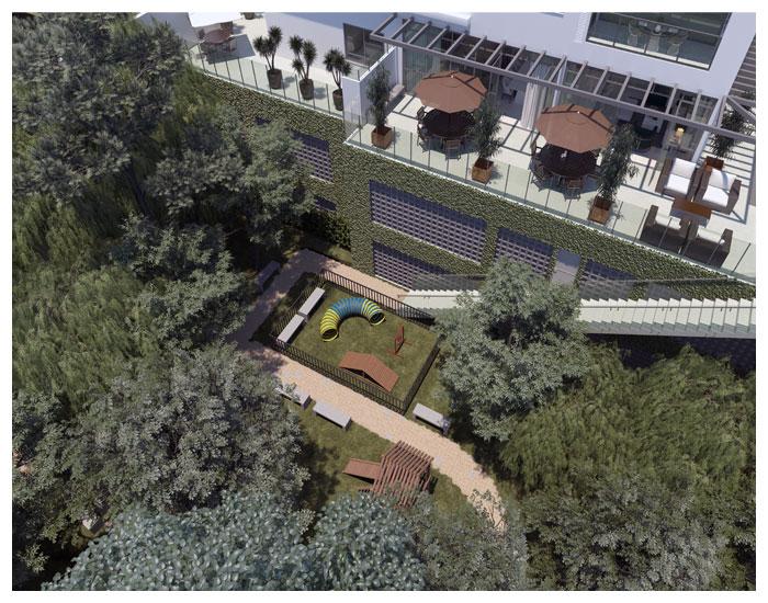Empreendimento com bosque de 500m²