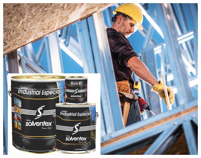 Tintas de alta performance Solventex para projetos sustentáveis