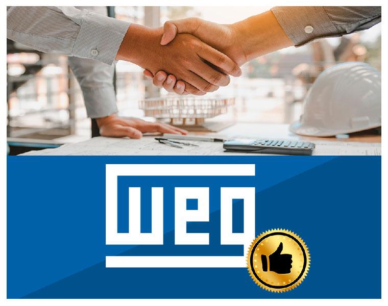 A WEG é a parceira ideal das construtoras