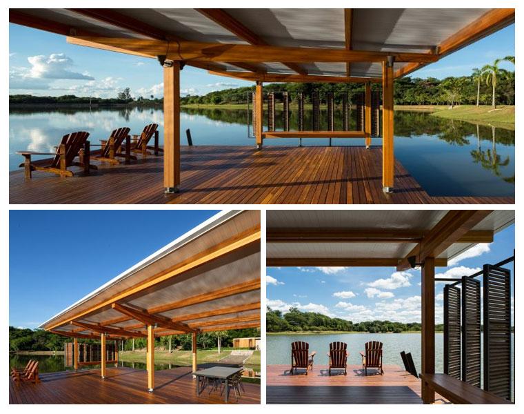 Pavilhão Flutuante de Bruno Rossi