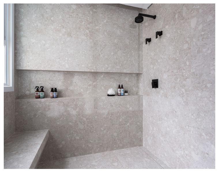 Nichos de banheiro pelo Tan-gram