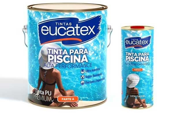 Eucatex lança Tinta PU para Piscina