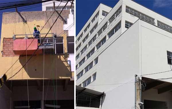 Renovação torna edifício do Sesc dedicado à saúde ainda mais saudável