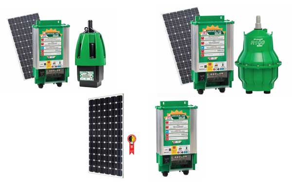 Bombas movidas a energia solar