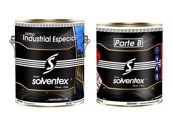 Cuidados na preparação das tintas bi componentes