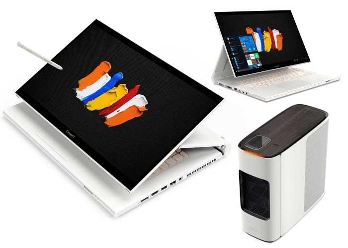 Acer expande linha para profissionais de criação