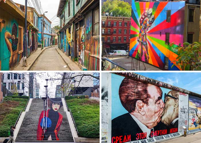 Arte de rua pelo mundo