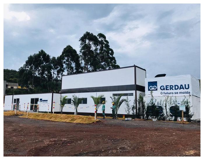 Construção off-site pelo Brasil ao Cubo