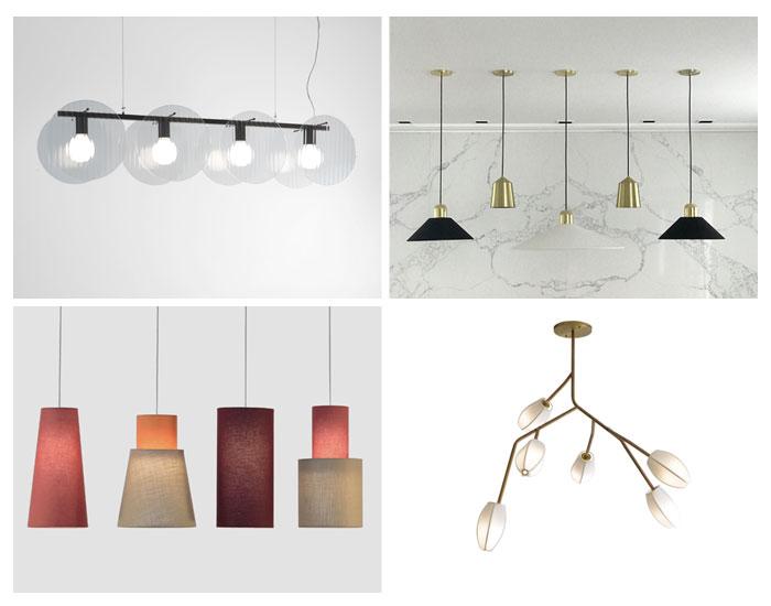Iluminação para sala de jantar, por Cris Bertolucci Estúdio