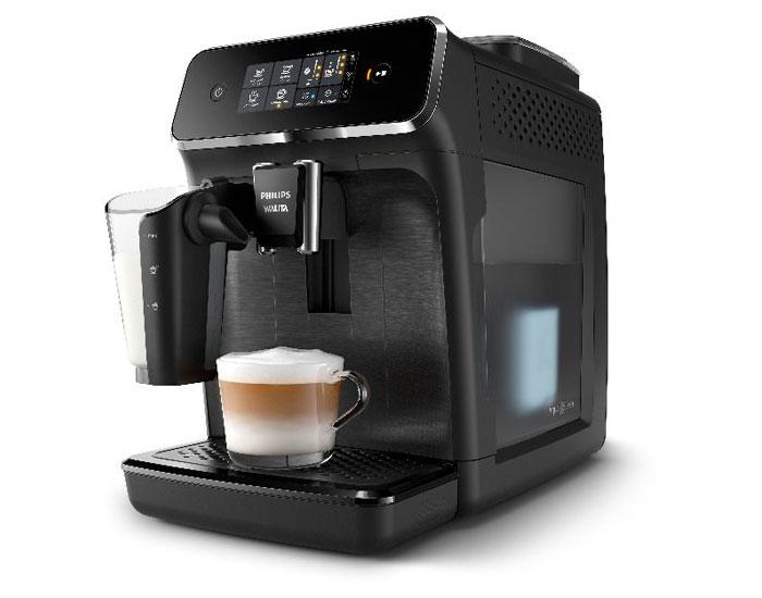 O requinte dos cafés da LatteGo Philips Walita
