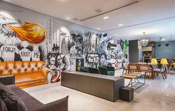 Grafite em casa