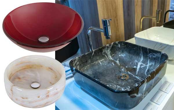 A cuba ideal para cada lavabo ou banheiro