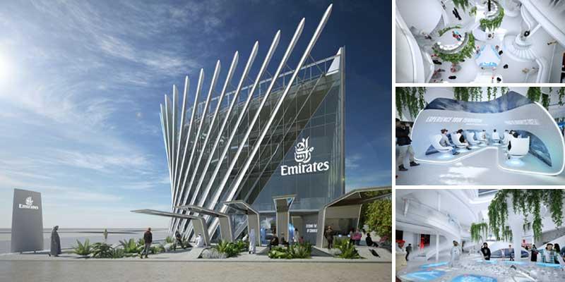 Pavilhão Emirates para Expo 2020 Dubai