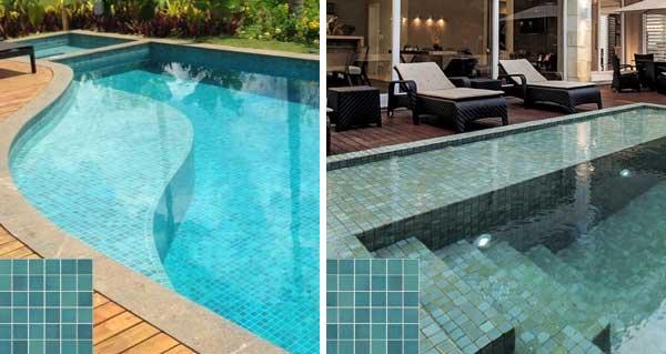 Pastilhas dão cor especial à água das piscinas