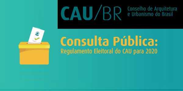 Consulta sobre o regulamento do CAU/BR