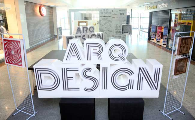Mostra Arq Design no Riopreto Shopping