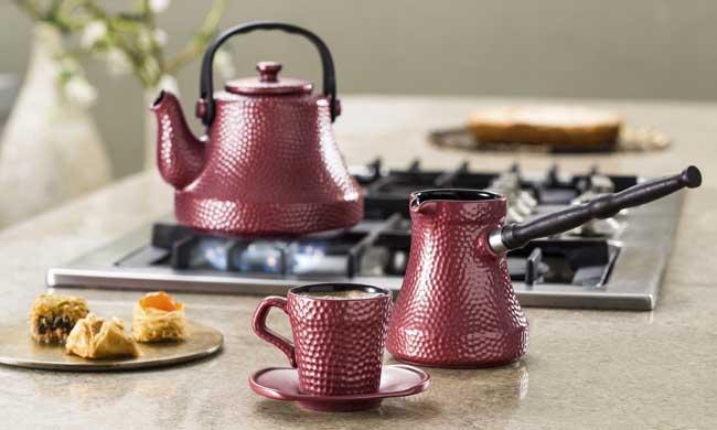 Ibriks de cerâmica para café turco
