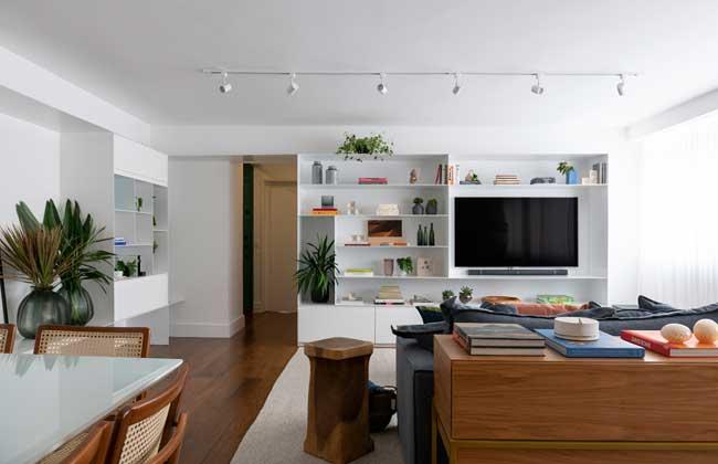 Tria atualiza apartamento