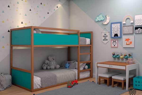 Beliche Montessorina da Cia do Móvel