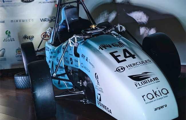 Hercules Motores Elétricos na Fórmula SAE